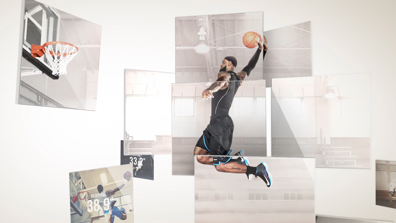Nike    NIKE HYPERDUNK  In-Store Display | Compositing   VIEW