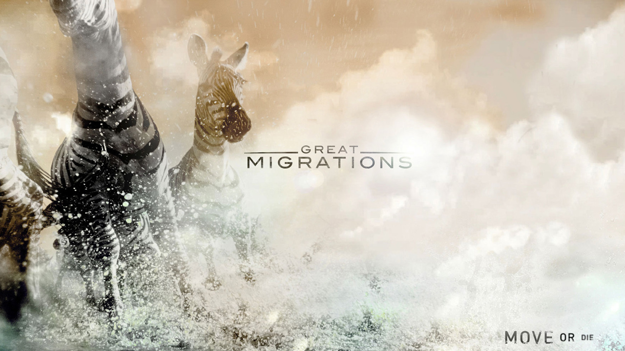 National Geographic Channel    GREAT MIGRATIONS Broadcast | Design & Animation   VIEW
