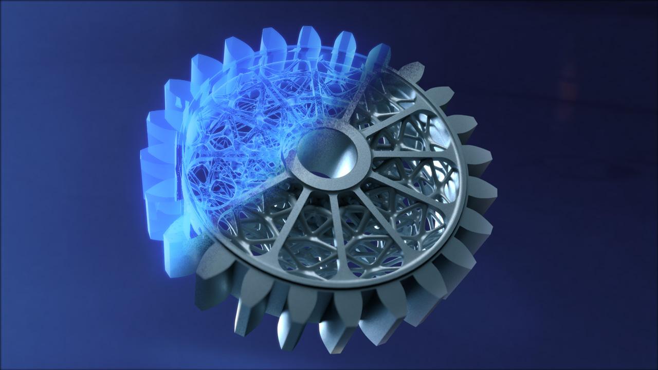 3D Textured Object
