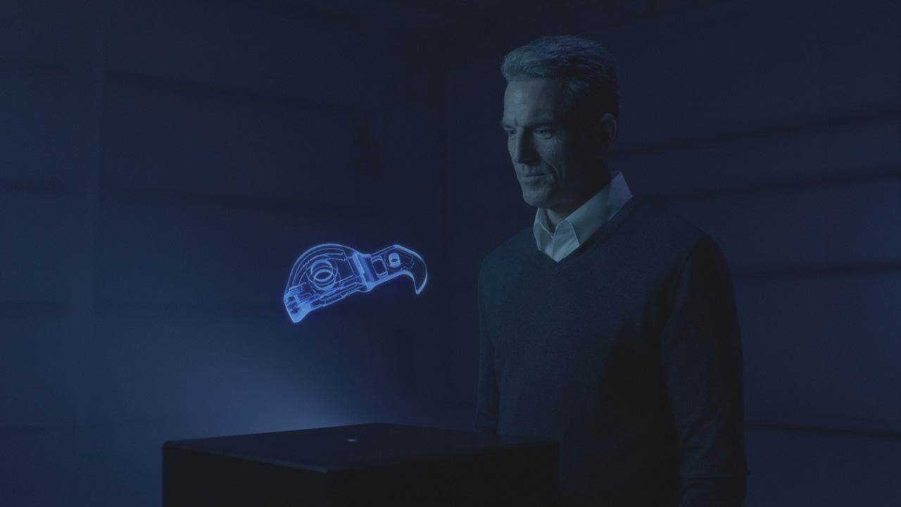 3D Rendered Hologram
