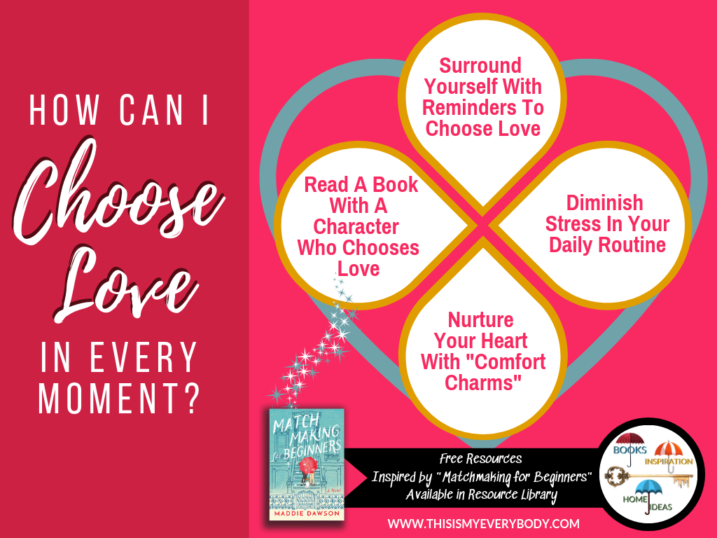 "How Can I Choose Love In Every Moment?… Includes my free ""I Choose Love"" Tech Wallpaper, Notecards, Art Prints and more… 
