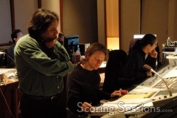 Robert with film composer  Klaus Badelt