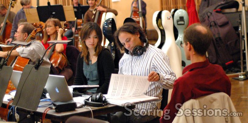 Robert with orchestrator  Dana Niu