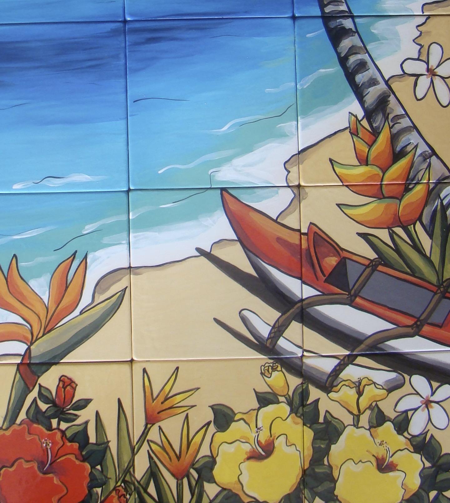 Close up Canoe