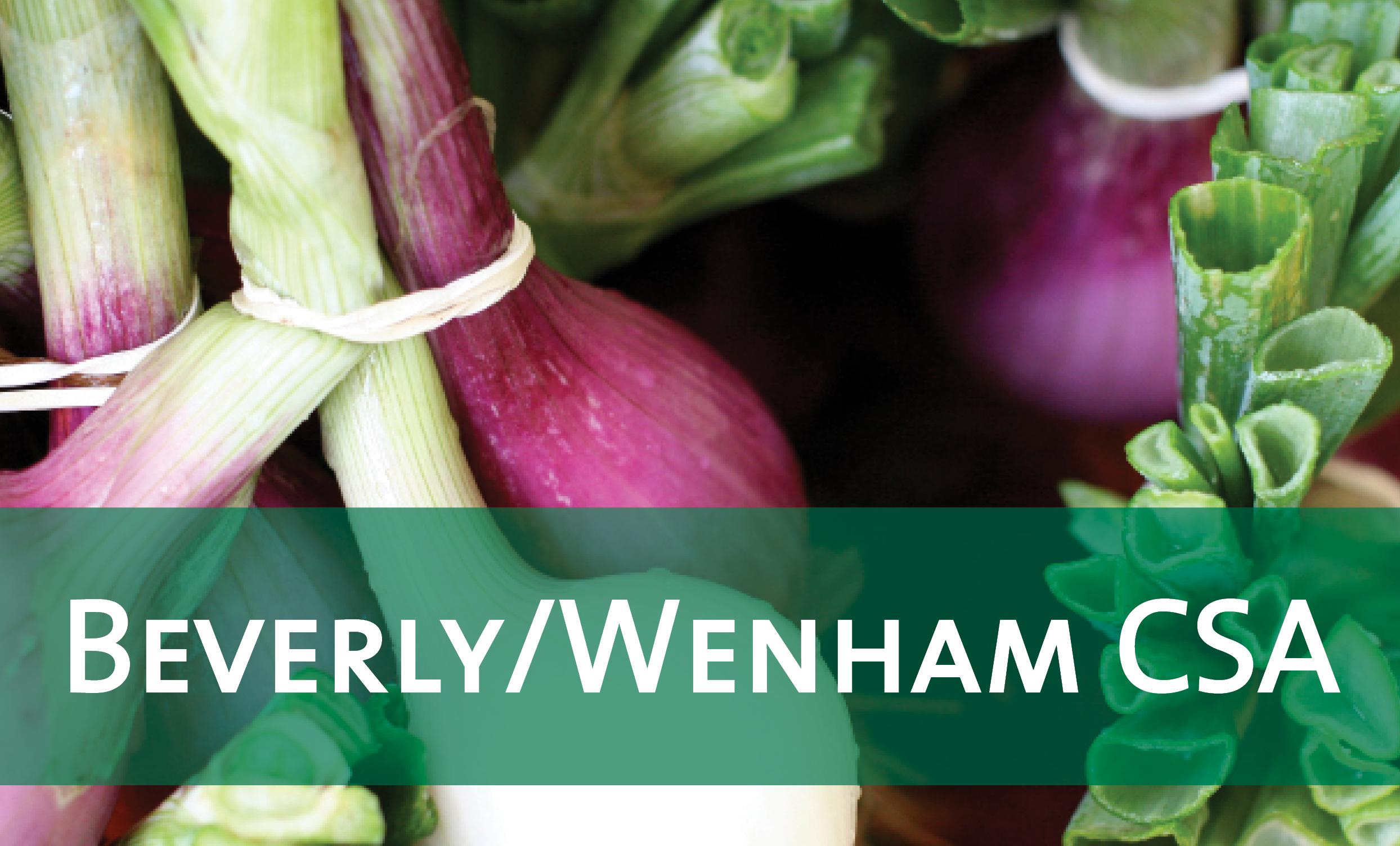 Beverly/Wenham On-Farm CSA