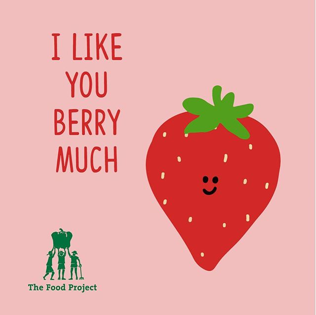 This Valentine's Day, skip the roses and buy someone you love (or yourself!) a berry sweet gift with a CSA share from The Food Project! They'll get 20 weeks of fresh vegetables, herbs, flowers and fruits, give 120 teens an opportunity to learn about food and social justice, and grow a world where everyone has access to fresh, healthy food. Purchase yours today via link in profile.