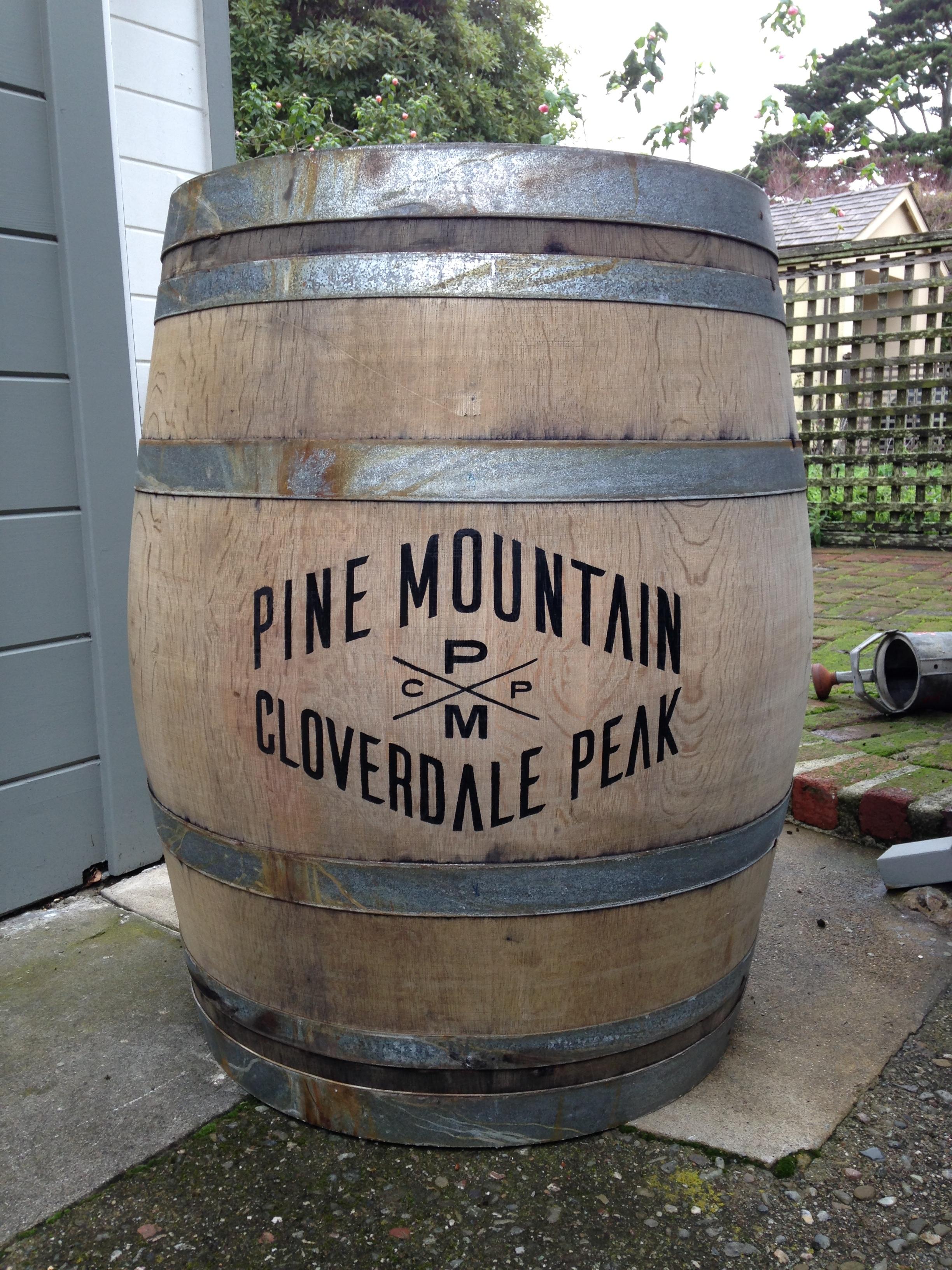 PMCP Wine Barrel