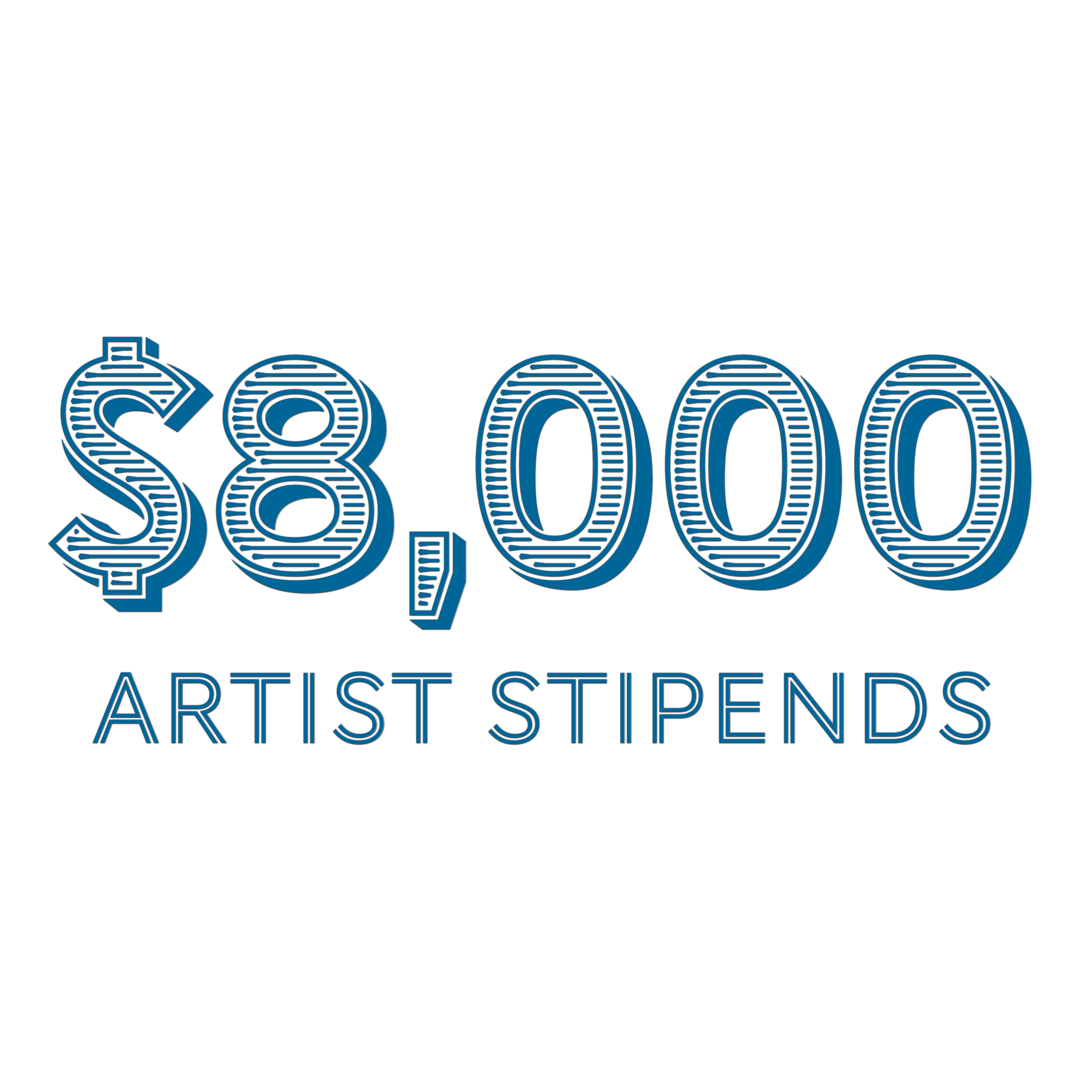 Each time an artist performs on a Water St. production, we're proud to pay a stipend for their time and talents.