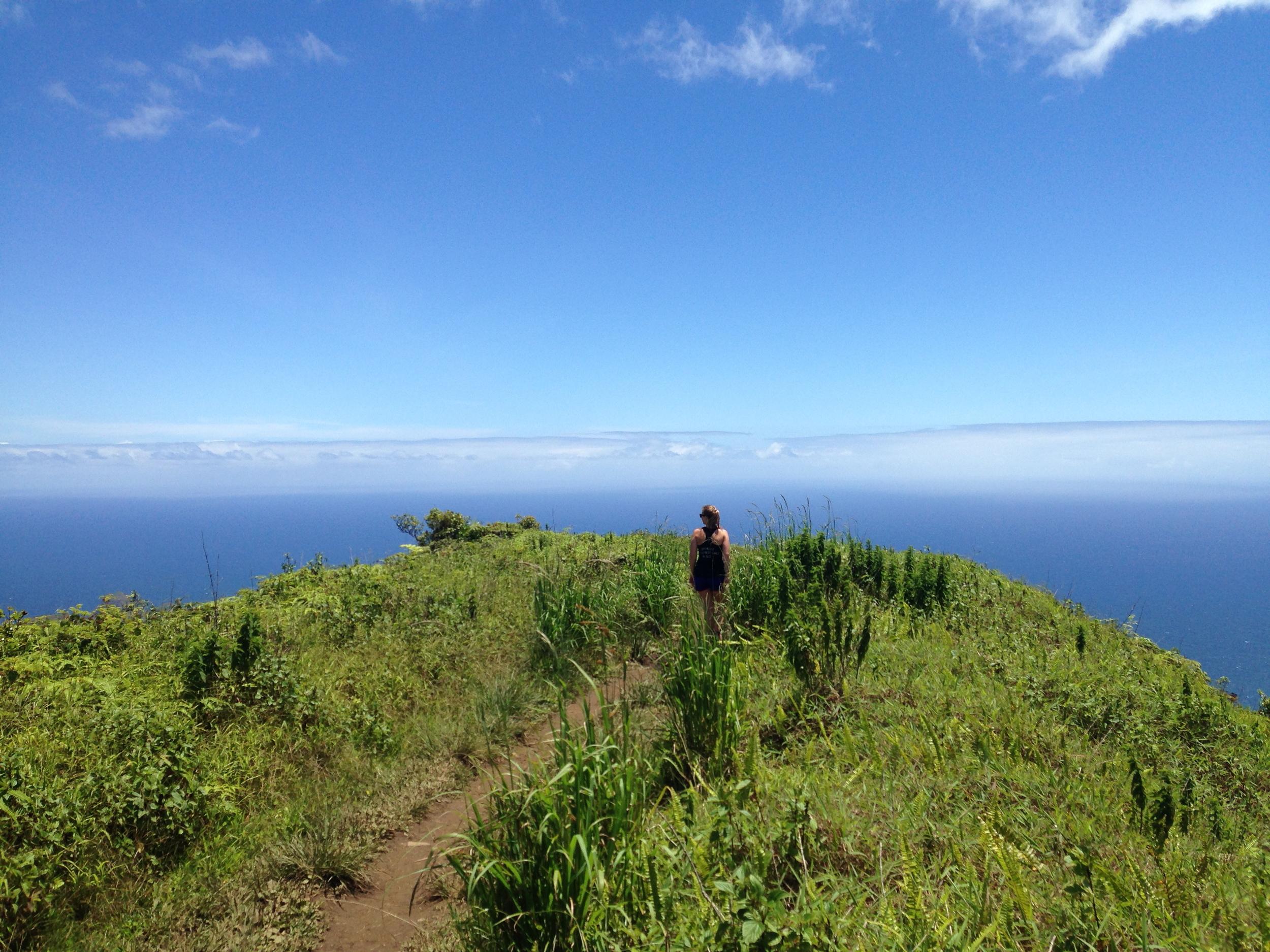 Waihee Ridge Trail // Maui, Hawaii. Photo by: Dane Smith