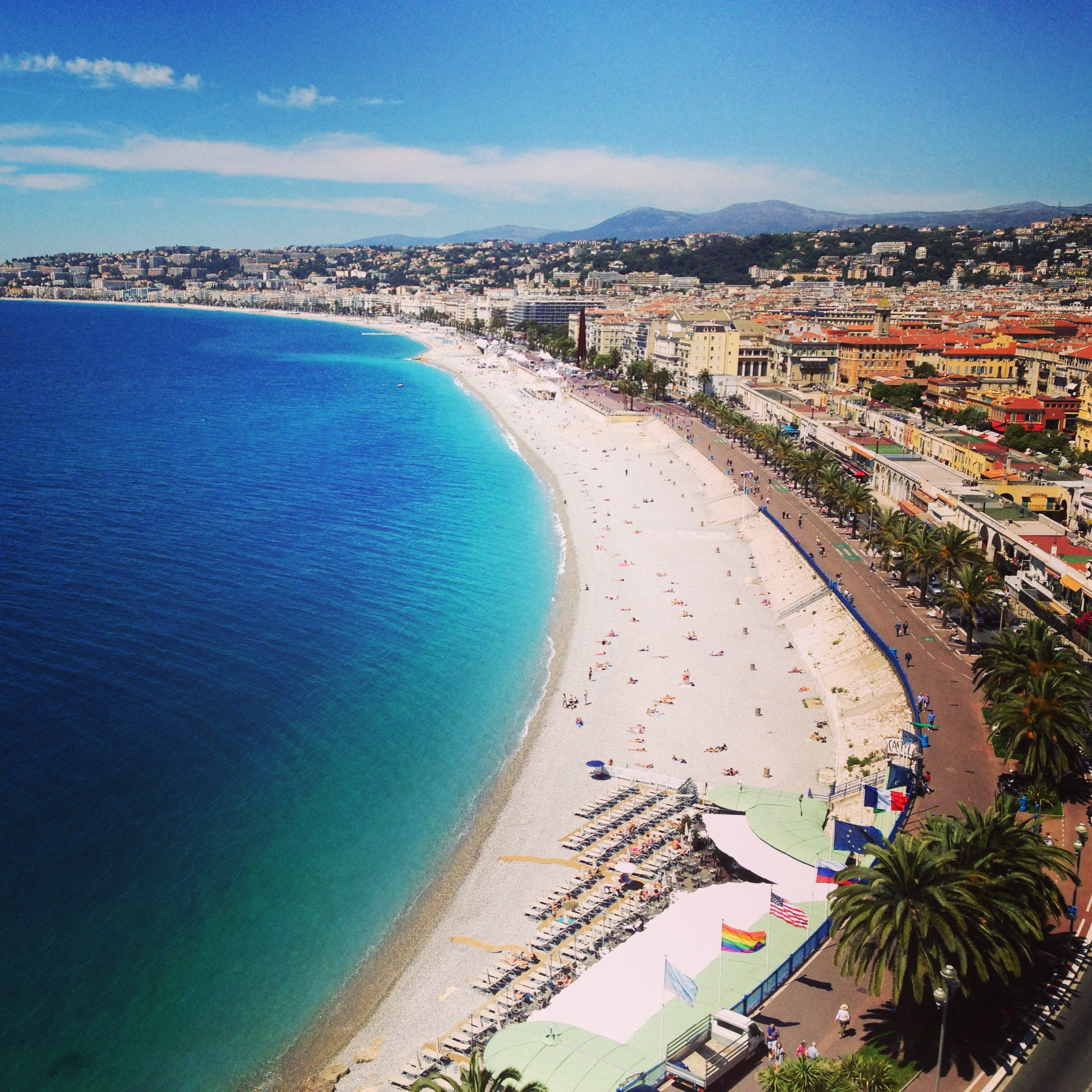 View of La Promenade des Anglais // Nice, France