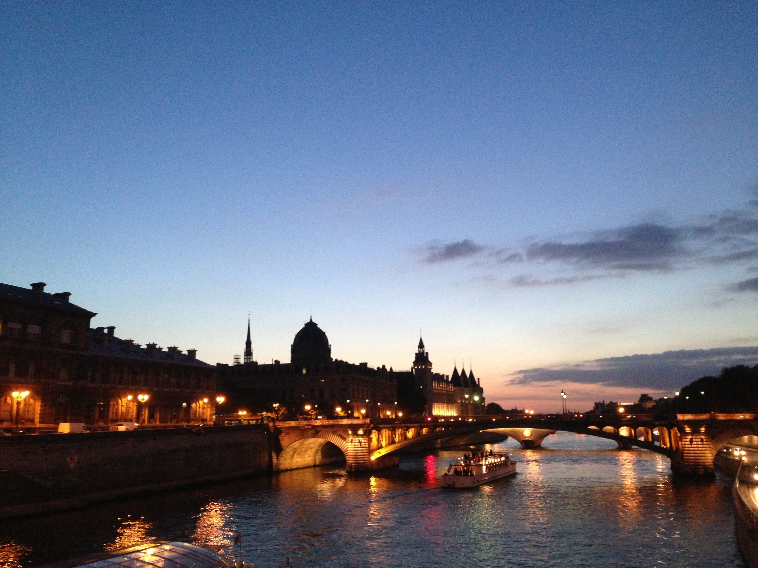 La Seine // Paris, France