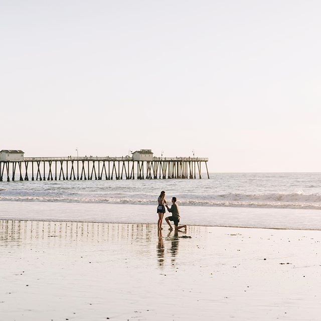 My gratitude meter is off the charts right now. After nine and a half years together, Kyle and I finally upgraded our titles to fiancés! I'm overjoyed and overwhelmed. Walking the beach at low tide has always been my happy place, and now it holds even more magic.  KB, you are my whole heart. Thank you for this moment ❤️