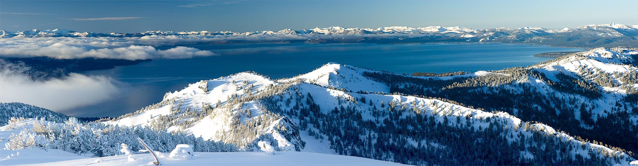 Lake Tahoe Winter Panaramic