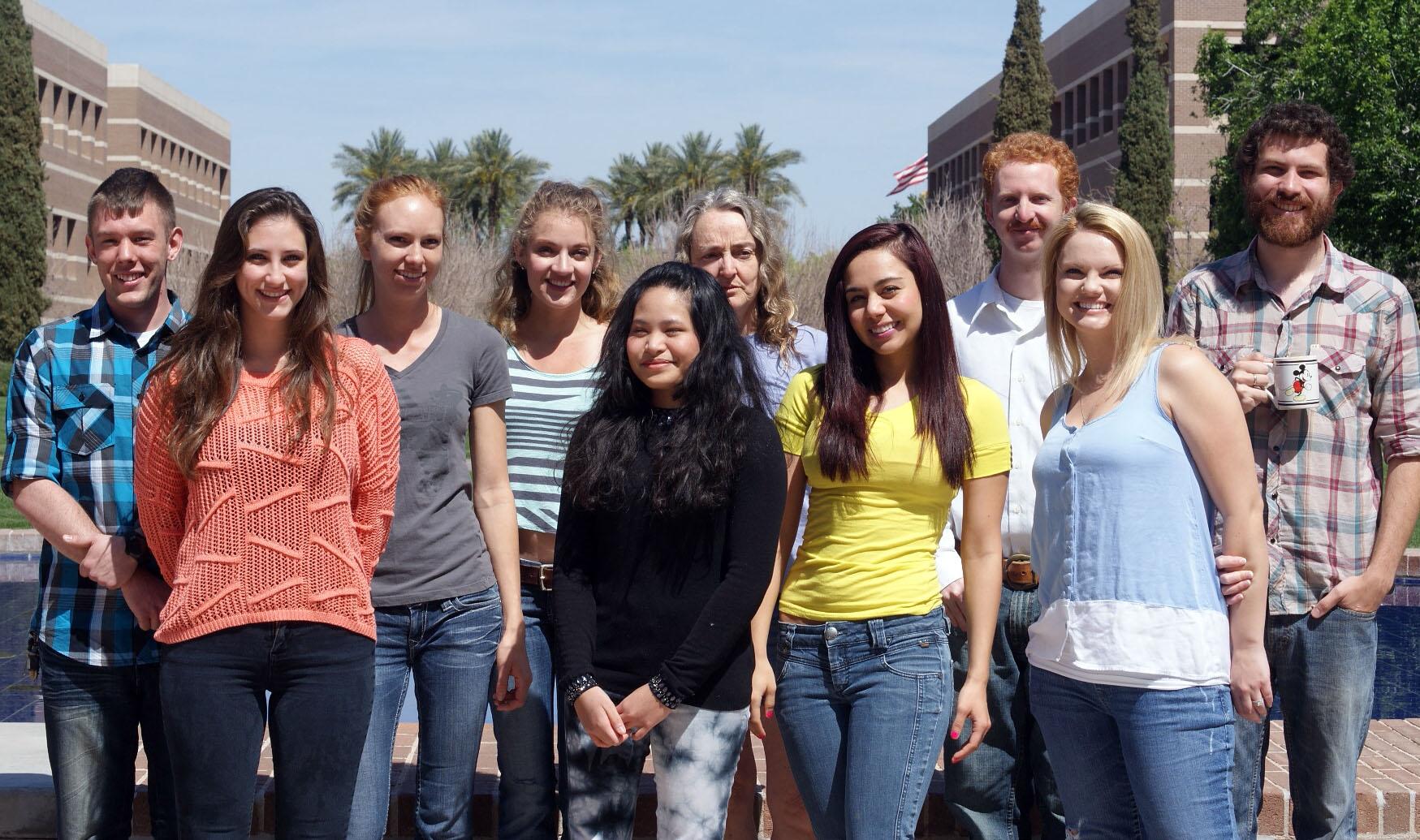 Spring 2014 Graduate RAs