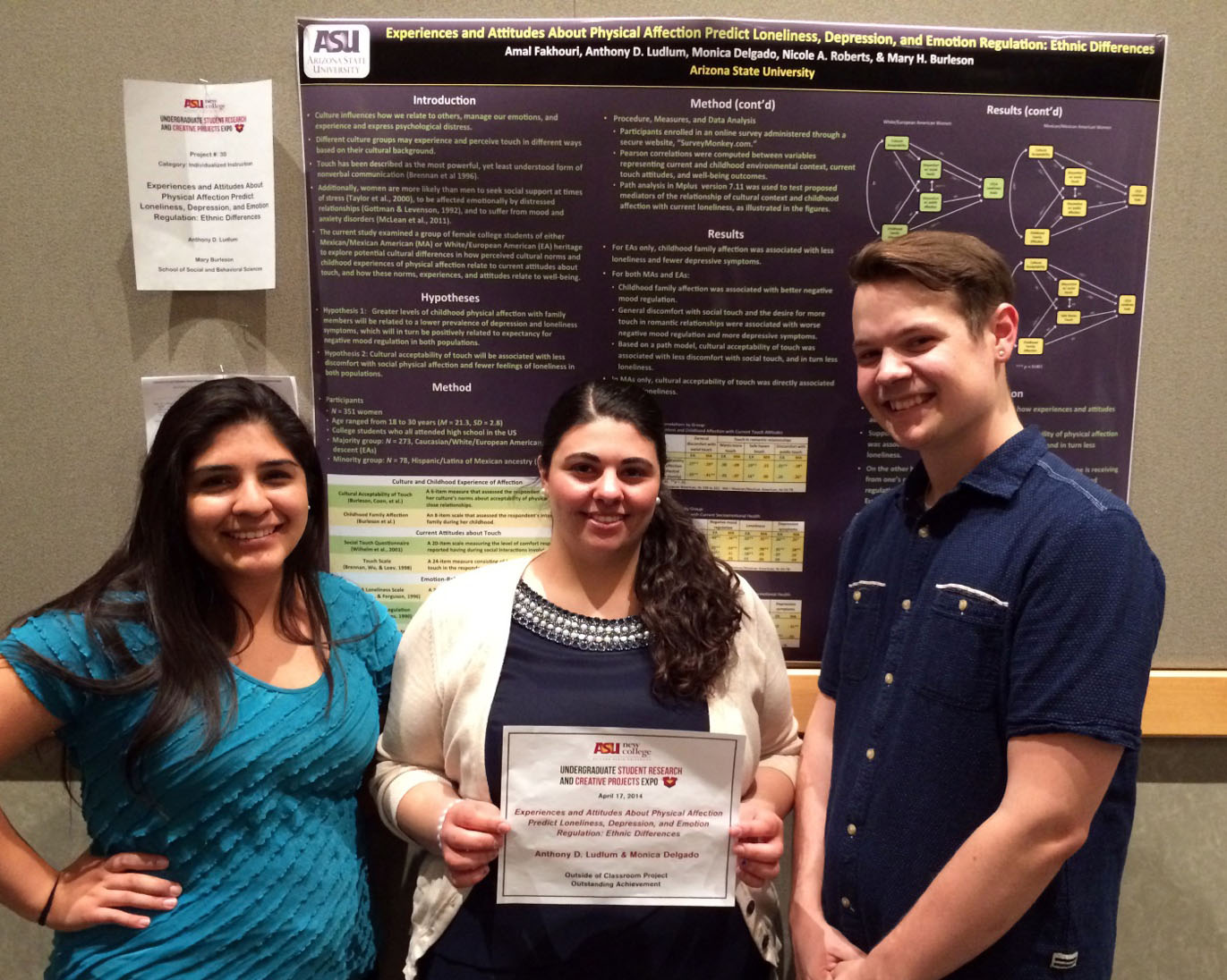 New College Research Expo - Spring 2014
