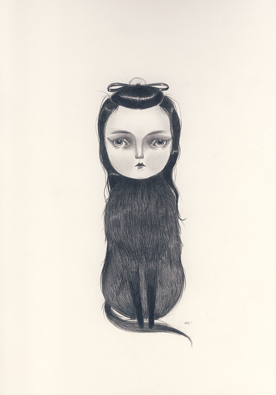 Century by Amy Earles, pencil on paper August 2014