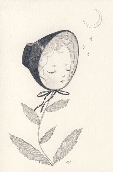 A Sleeping Flower by Amy Earles