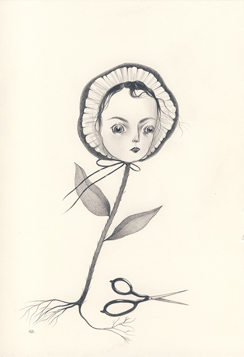 A Biting Flower by Amy Earles