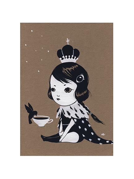 Monarch Kitten by Amy Earles
