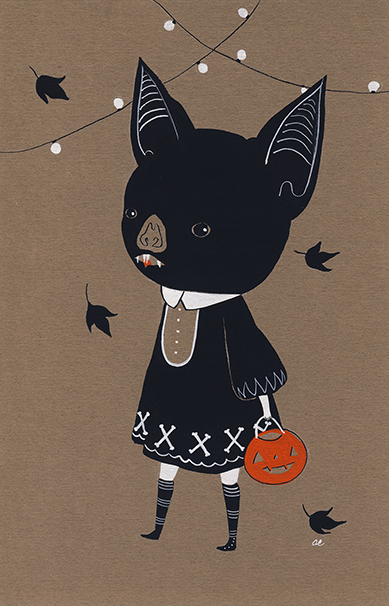 Awkward Bat Child by Amy Earles