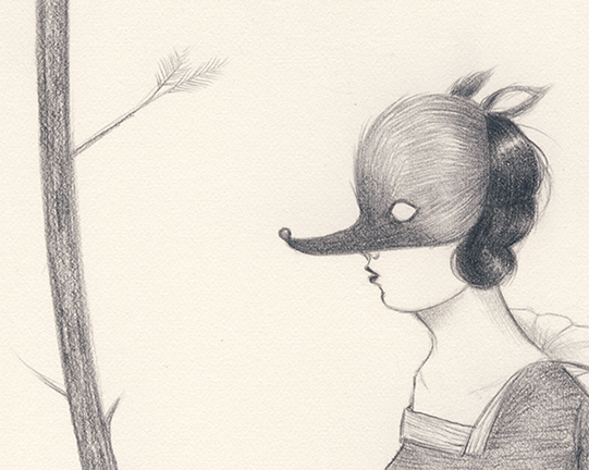 Work in Progress detail for Through the Eye by Amy Earles