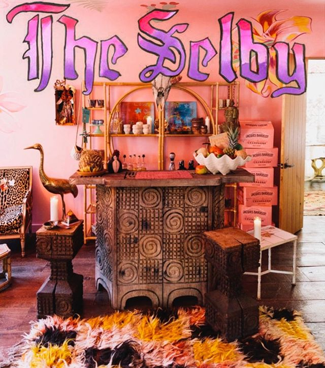 It was a cosmic gift for me when the wild and colorful Todd Selby came to town and my very particular family agreed to be photographed in our home. Thanks to 🐅, my babes 💕and 🌈💥@theselby for a super fun day. Dreams really do come true. Our picture story is up on theselby.com. (link in profile)✨