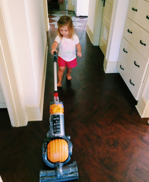 "I wish ""hiring toddler to do all the housework"" was an option."