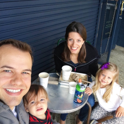 Taking time for family mealtime!
