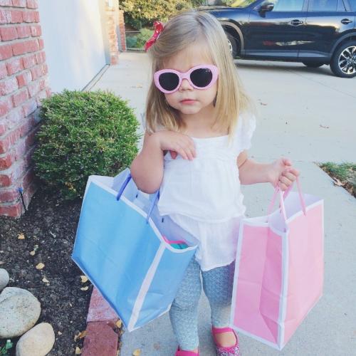 Nothing like having a little shopping helper.