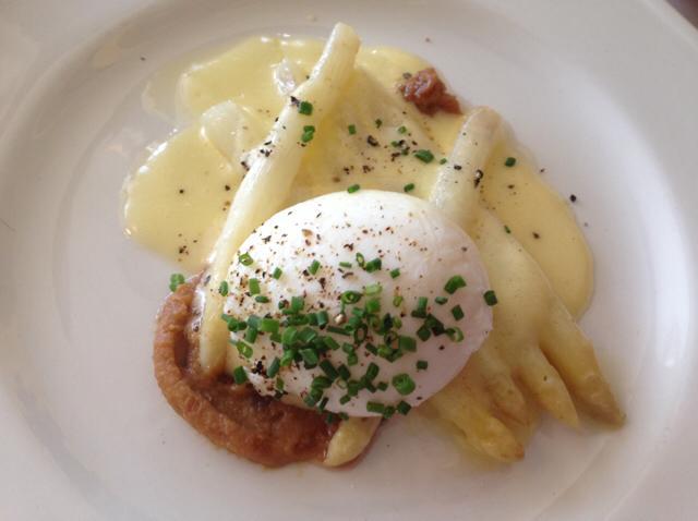 Soft Egg with Asparagus