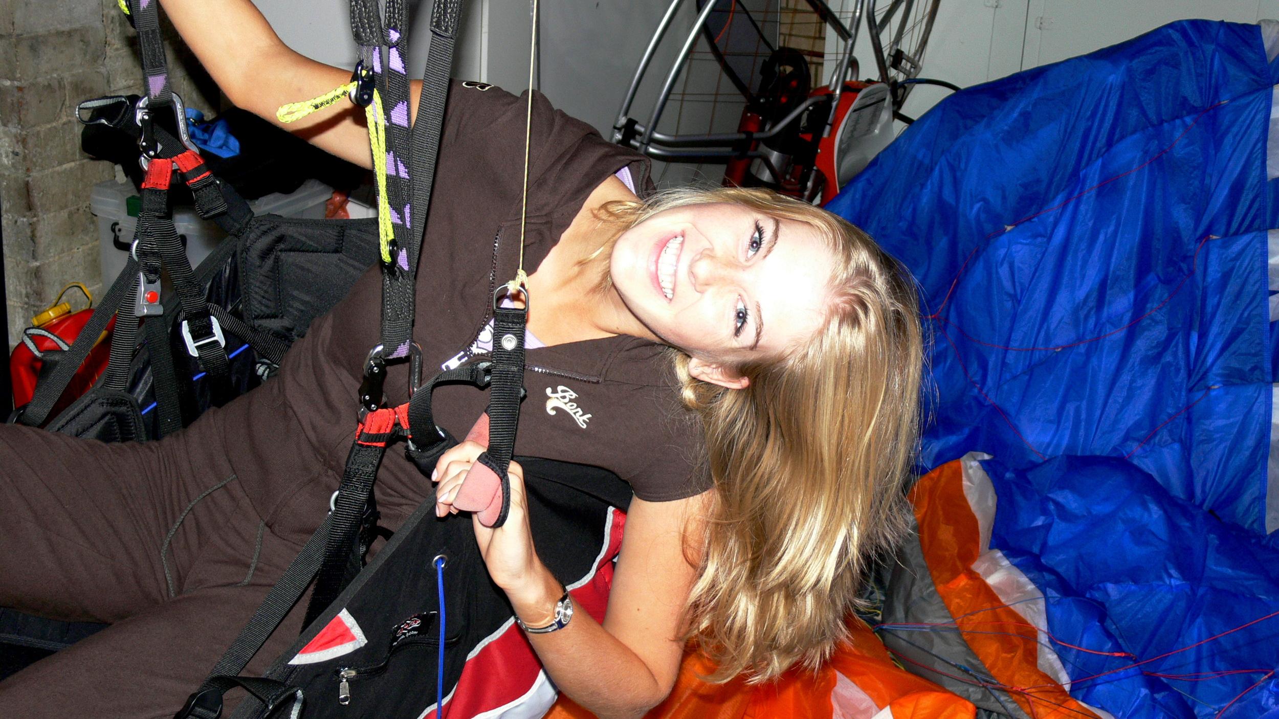 Caroline Pemberton - Paraglider