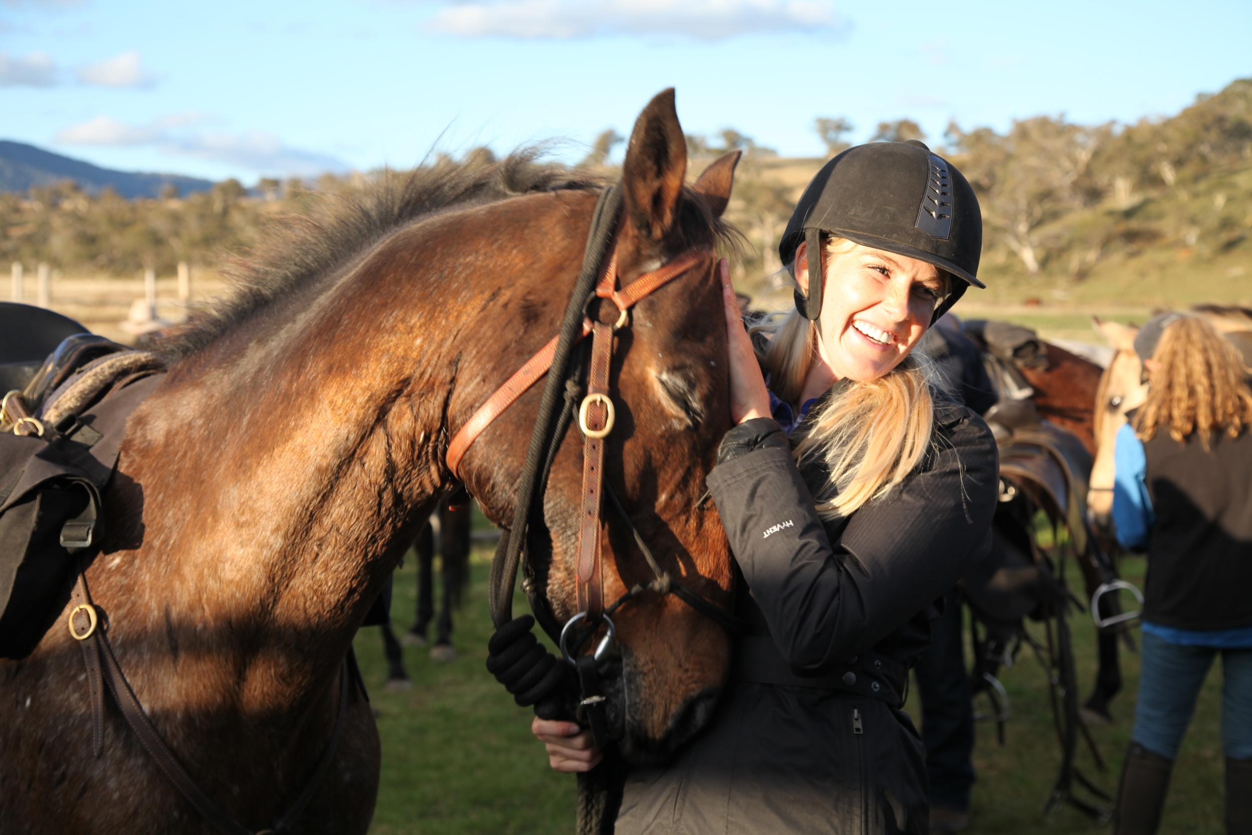 Caroline Pemberton - Horse Riding across the Australian Alps