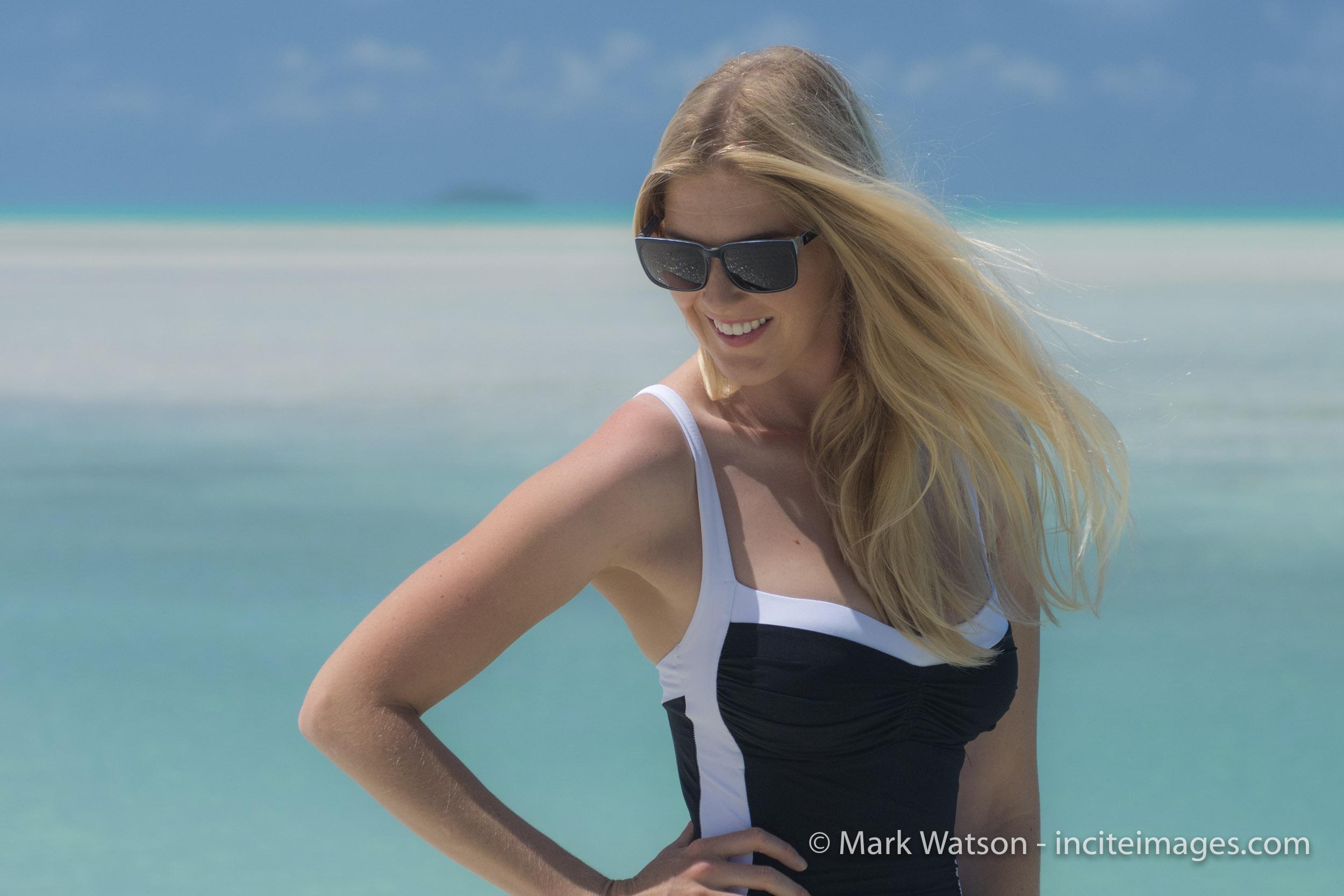 Caroline Pemberton swimwear