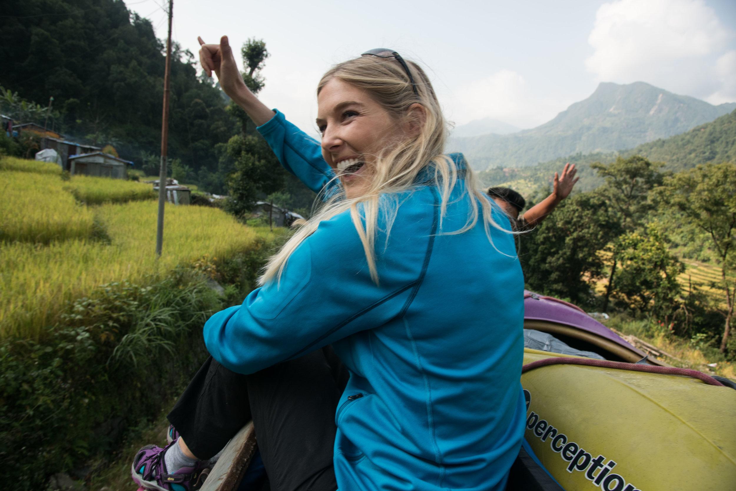 Caroline Pemberton_Nepal Shaka