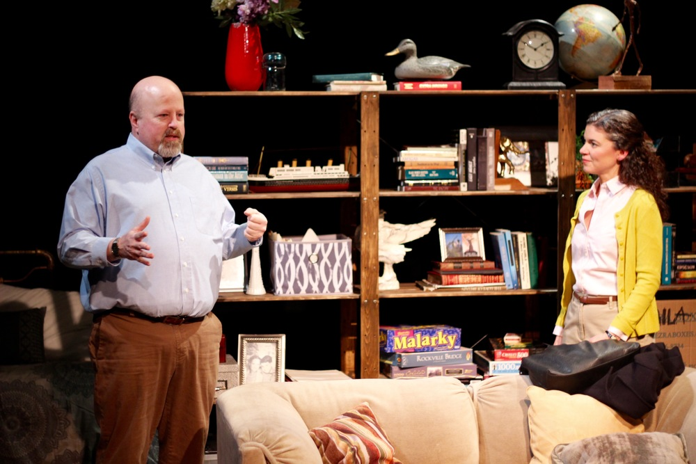 Dale J. Young as Charlie and Margarita Martinez as Adelina