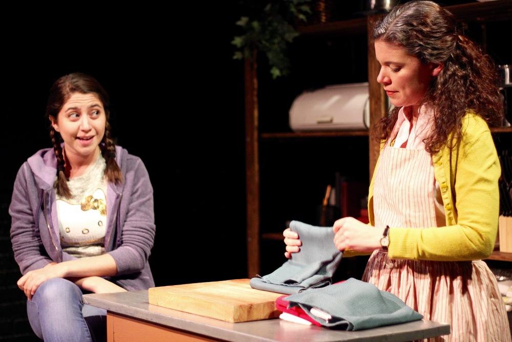 Alexis Scheer as Kaila and Margarita Martinez as Adelina