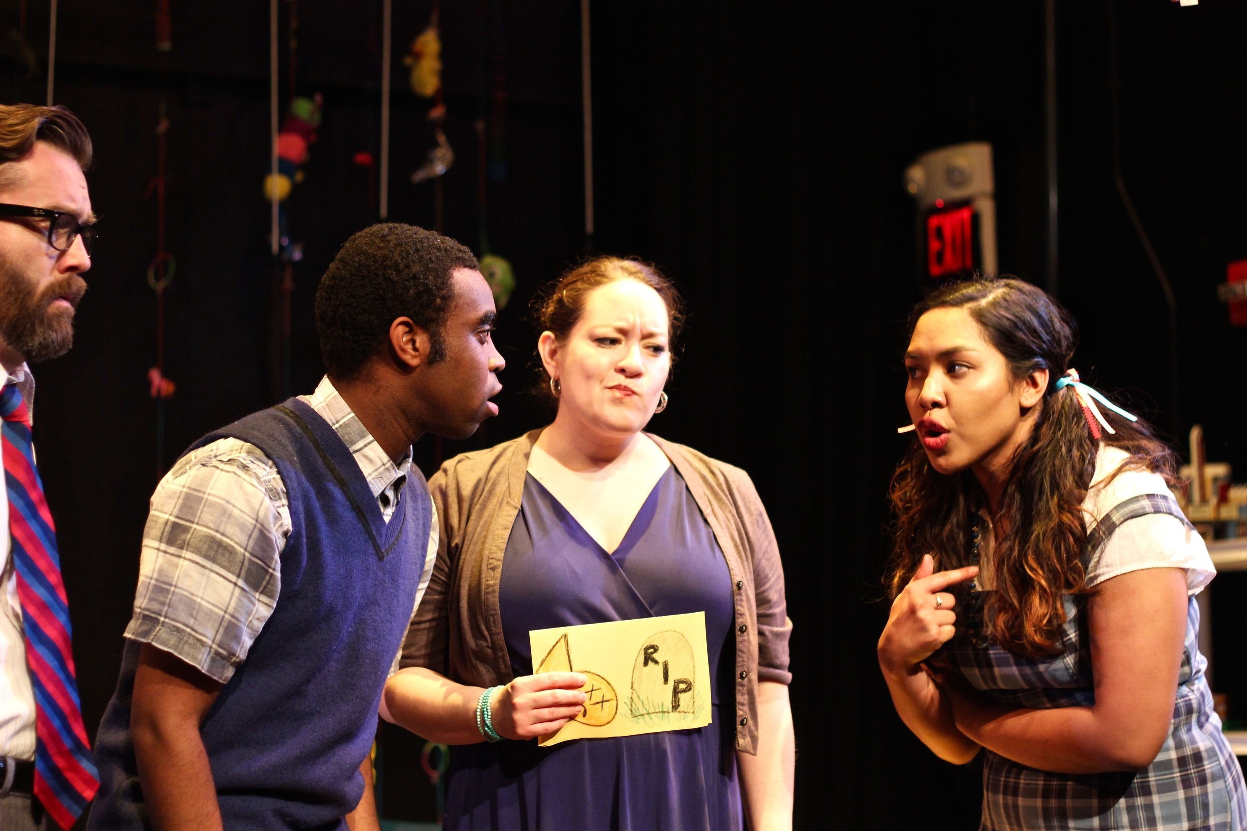 Scot Colford as Daddy,  Karina Beleno Carney as Mommy  ,  Ally Dawson as Daughtery, and   Marc Pierre as Sonny