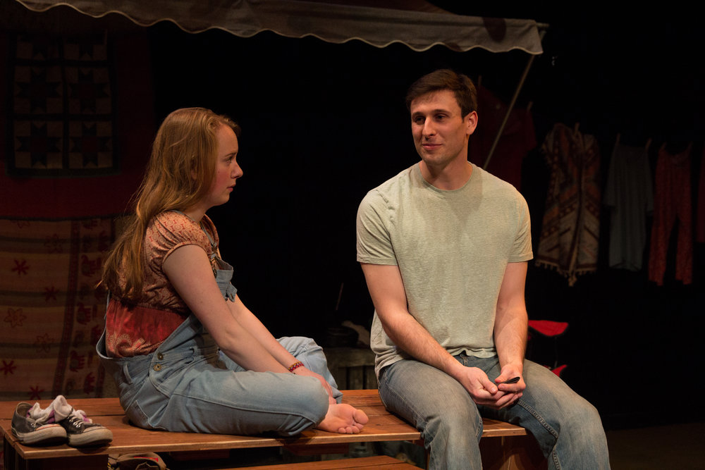 Nick Perron as Danny Louis and Ivy Ryan as Bridgette Echo
