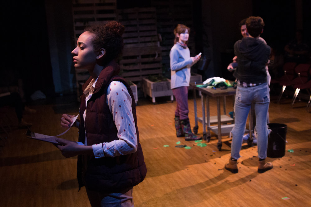 Aislinn Brophy as Rose, Laura Baronet Chowenhill as Erica and Emily Elmore as Sasha
