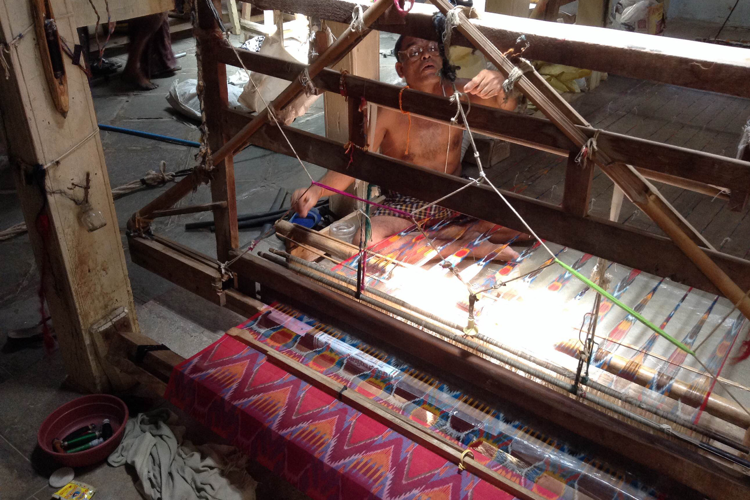 Woven Artisan Cotton - We use 100% yarn dyed, hand woven,internationally sourced cotton that comes in numerous colors and patterns for our products.Towels / Blankets / Clutches.