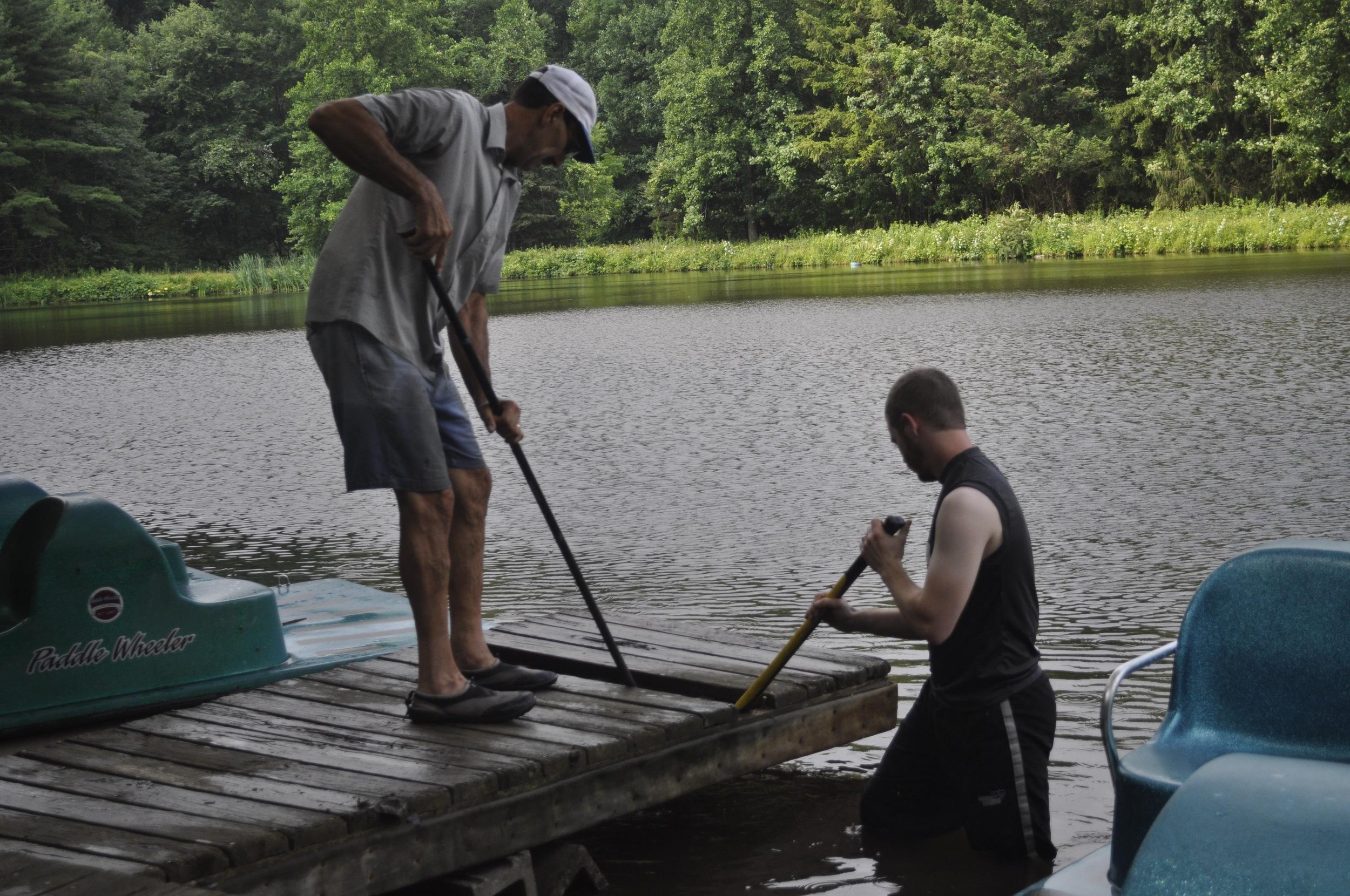 Dock Repairs - July 2015