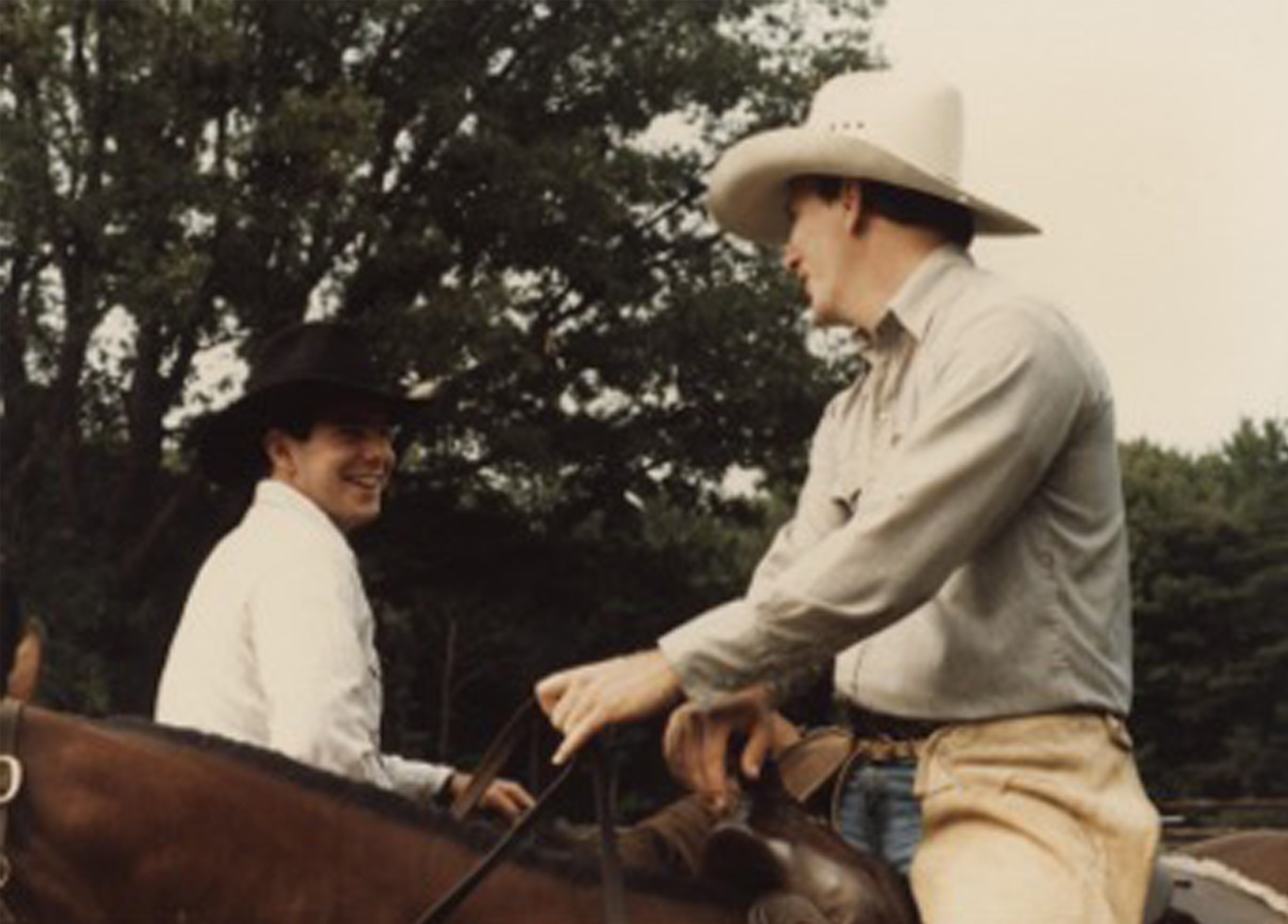 Todd Williams pictured above during his days working on staff at Camp Hebron