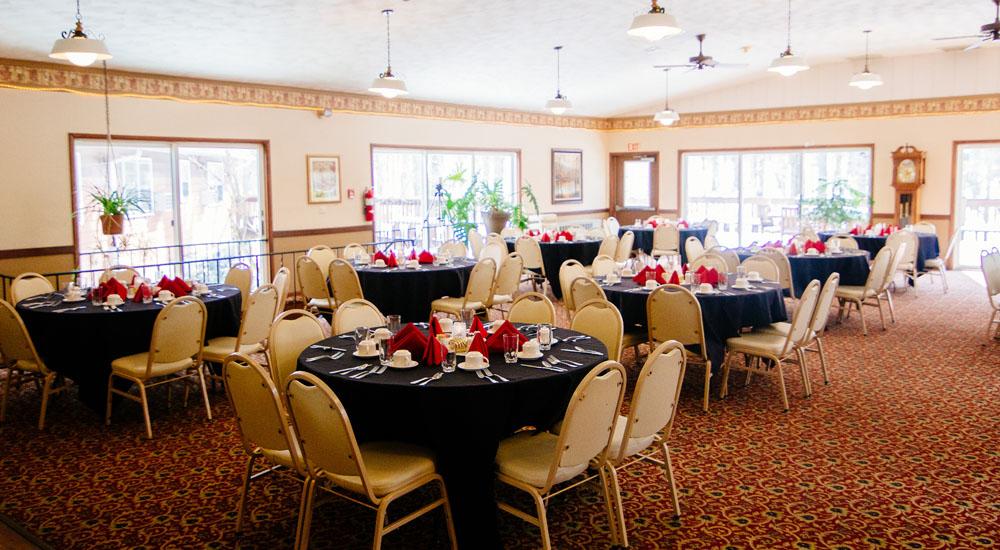 Dining   Two spacious dining areas.