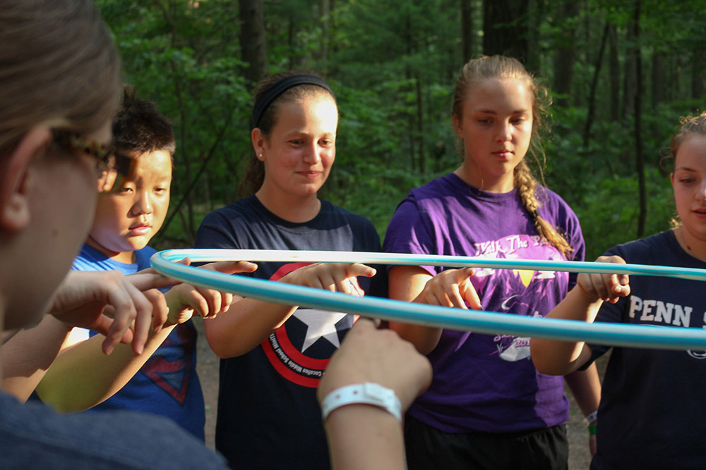 Team building initiatives help to develop social skills