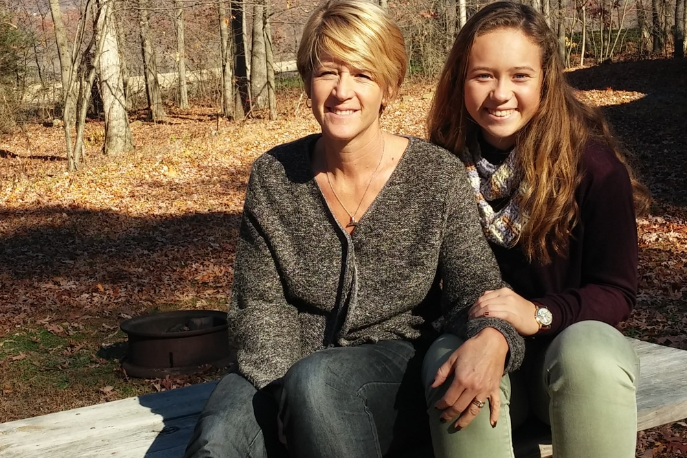 Moms and daughters enjoyed another beautiful autumn weekend,  see more photos from the event here.
