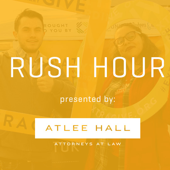 6am-8am: Rush Hour -
