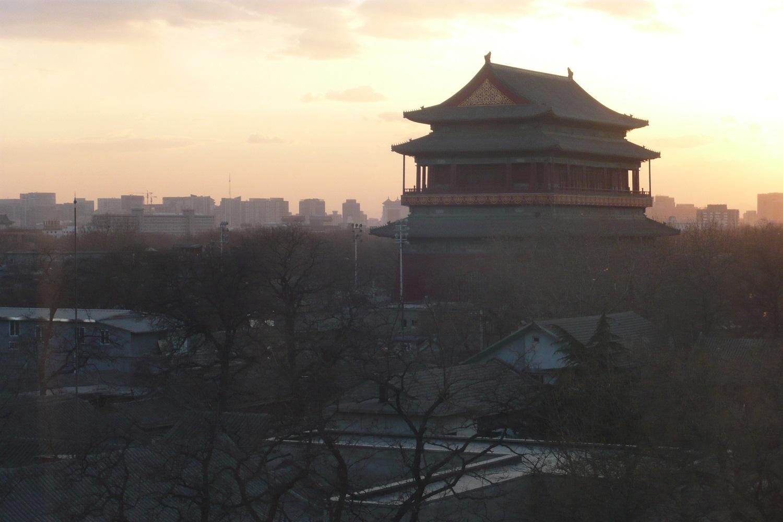 Drum Tower, Beijing, China.