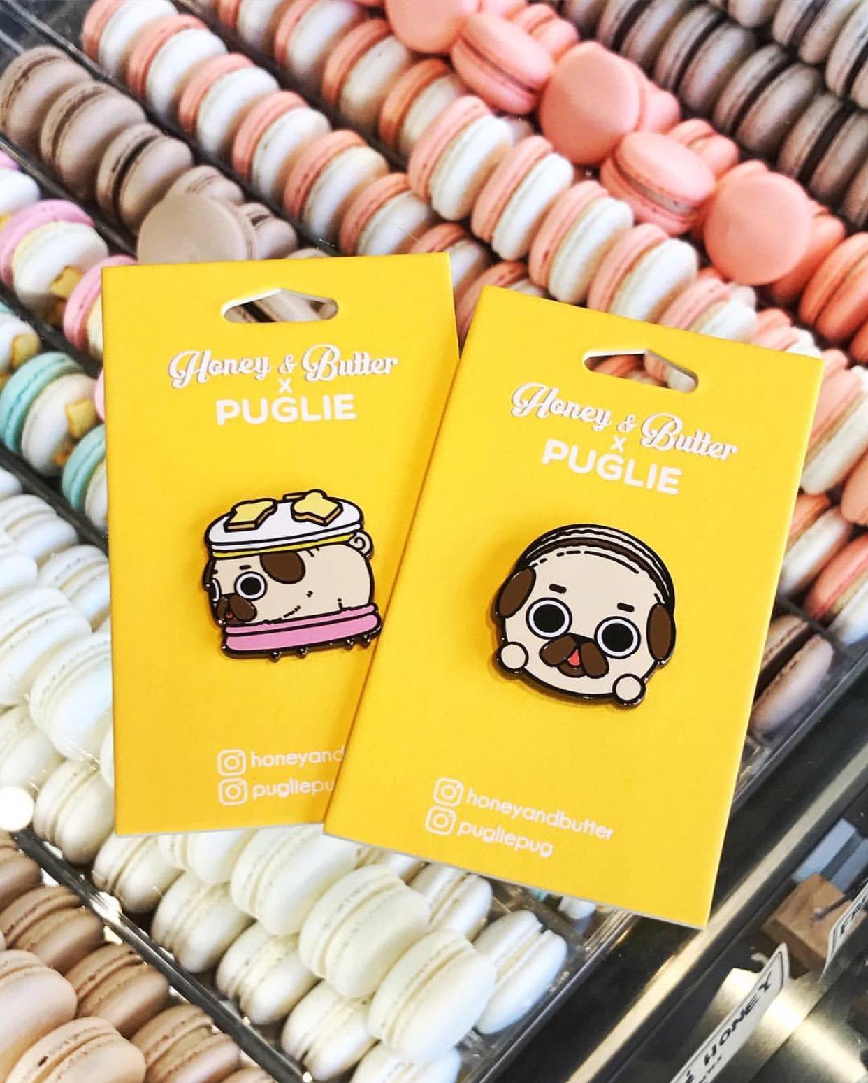Puglie x Honey & Butter Pins {Detail Shot}