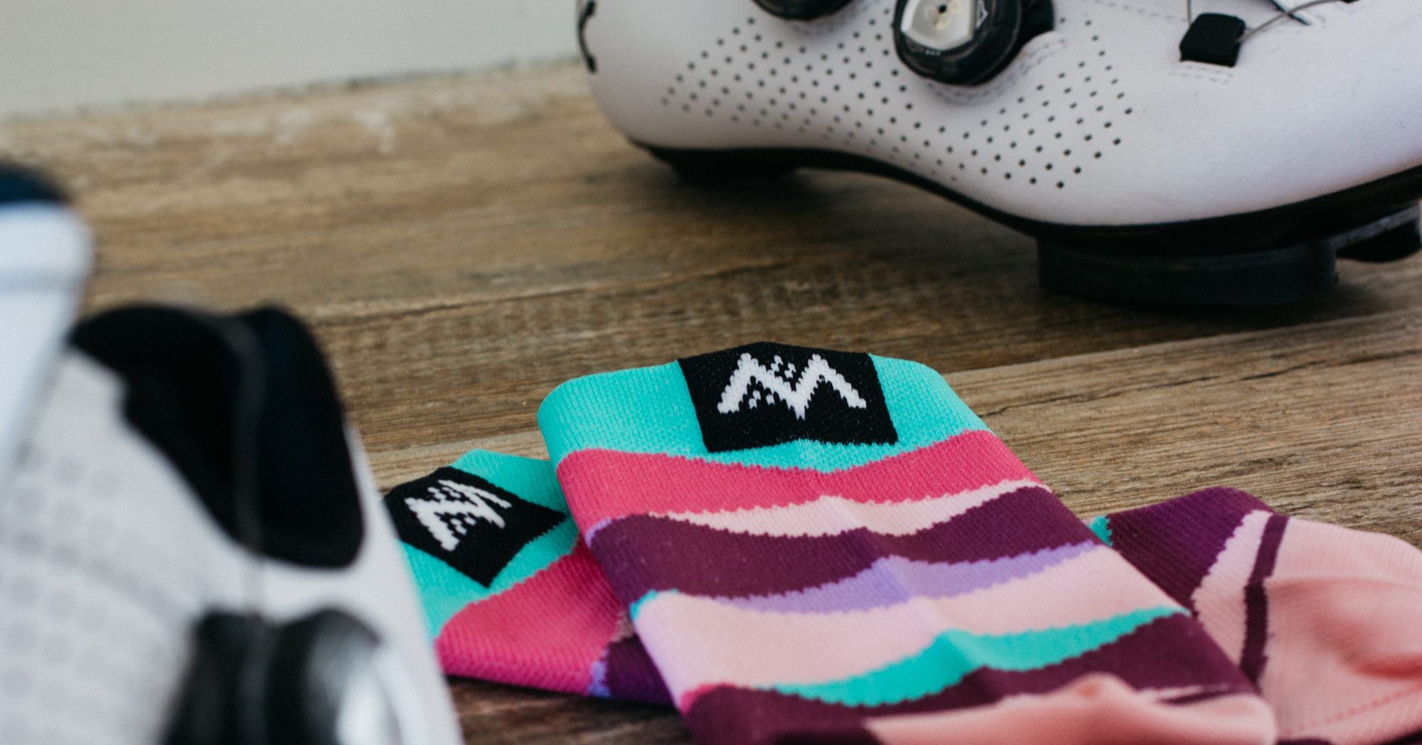 DREAMER SOCKS WITH CYCLING SHOES
