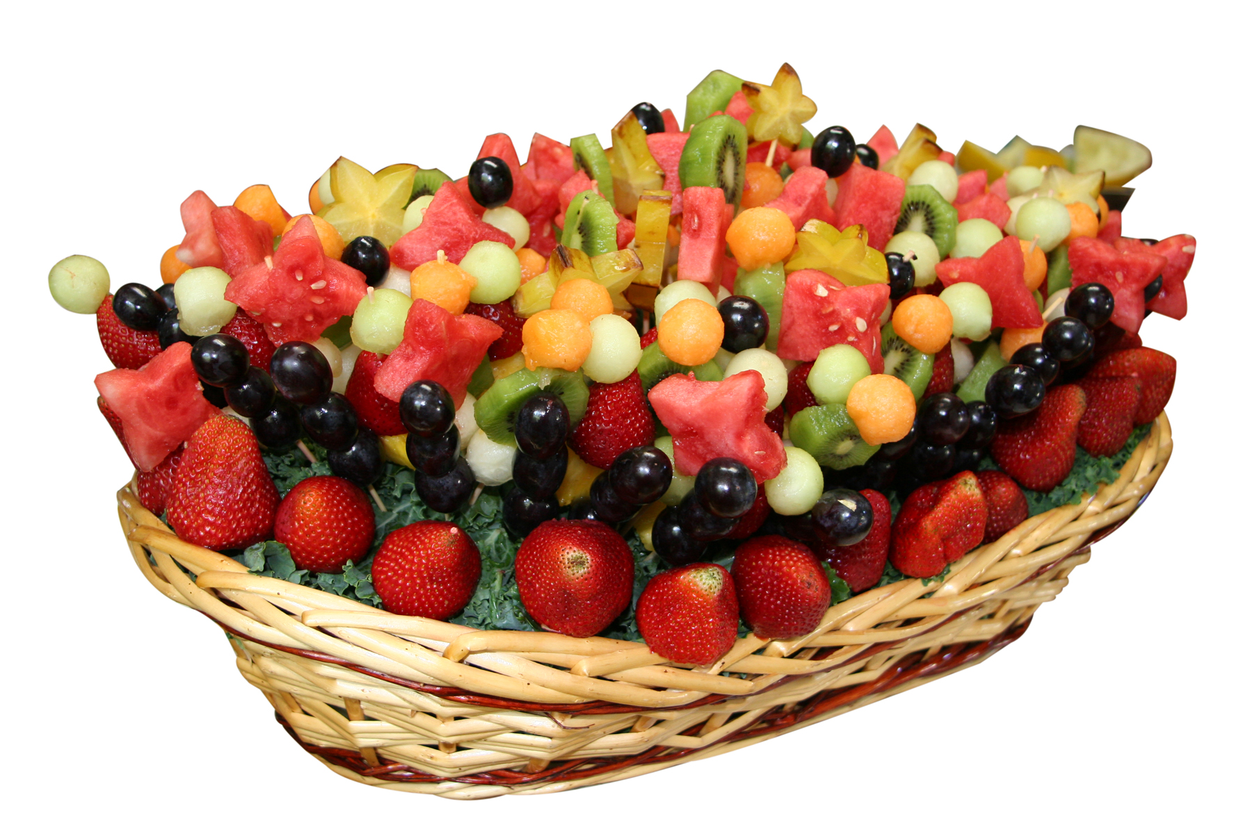 Fruit Kabob Basket